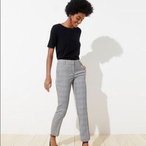 LOFT ankle pants.